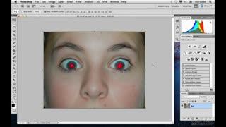 16. Fixing Red Eye