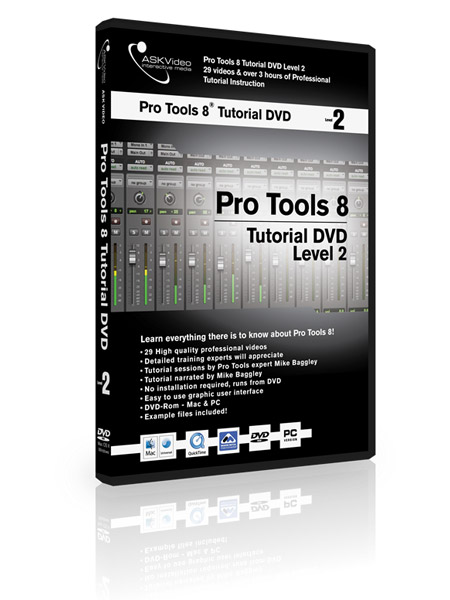 Pro Tools 8 502 - Working with Pro Tools 8 - Level 2