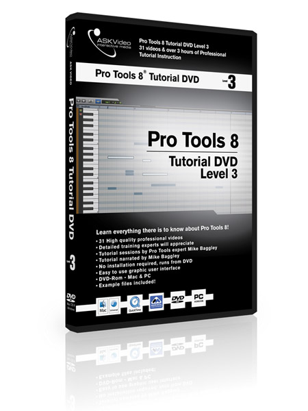 Pro Tools 8 503 - Working with Pro Tools 8 - Level 3
