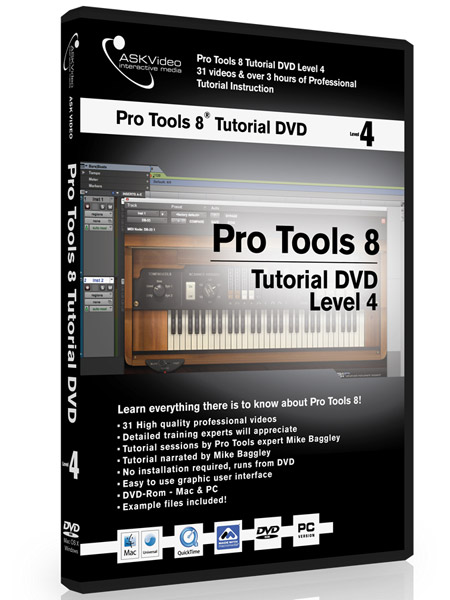Pro Tools 8 504 - Working with Pro Tools 8 - Level 4