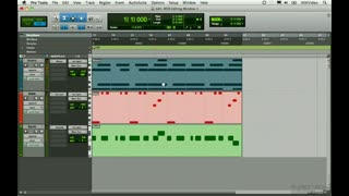 30. MIDI Editing Window 1