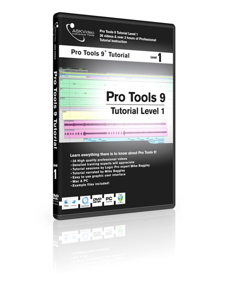 Pro Tools 9 501 - Working with Pro Tools 9 - Level 1