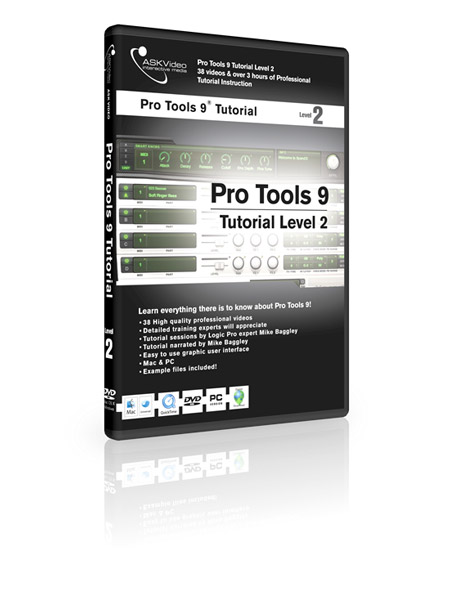 Pro Tools 9 502 - Working with Pro Tools 9 - Level 2