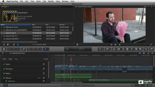 Final Cut Pro X 104: Core Training: Audio Editing, EQ and FX - Preview Video