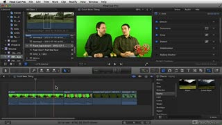 17. Using Green-screen Footage