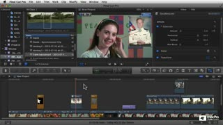 Final Cut Pro X 105: Core Training: Compositing and Visual FX - Preview Video