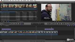 Final Cut Pro X 106: Core Training: Graphics, Titles, Transitions and Themes  - Preview Video