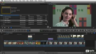 Final Cut Pro X 107: Core Training: Color Correction Masterclass - Preview Video