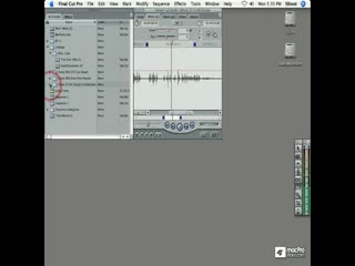 18. Editing an Audio Only Clip