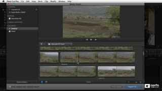 9. Selecting Footage to Import