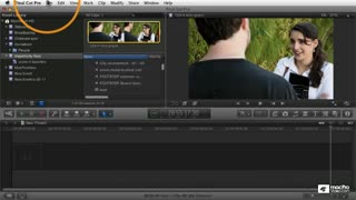 4. Importing iMovie Projects