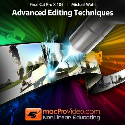 Final Cut Pro X 104 Advanced Editing Techniques Product Image