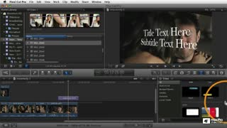 Final Cut Pro X 106: Titles, Effects and Compositing - Preview Video