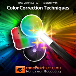 Final Cut Pro X 107 Color Correction Techniques Product Image