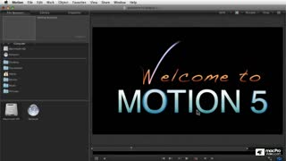 Motion 5 101: Overview and Workflow Guide - Preview Video