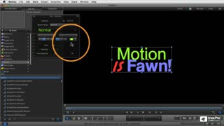 Motion 5 103: Animating Text - Preview Video