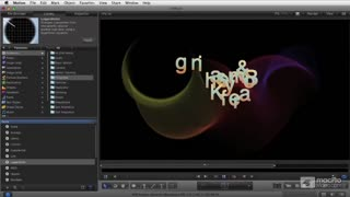 Motion 5 105: Animating Effects - Preview Video