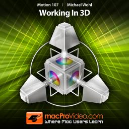 Motion 5 107 Working in 3D Product Image