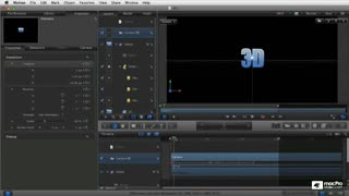Motion 5 107: Working in 3D - Preview Video