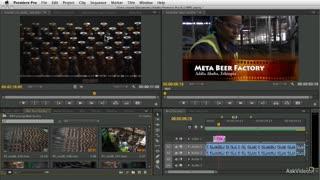 Premiere Pro CS6 100: The Premiere Pro Workflow - Preview Video