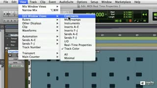 25. MIDI Real-time Properties in Edit Window