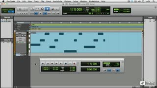 21. Recording with MIDI Merge