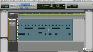 35. The MIDI Editor Window