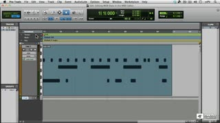 36. Editing in the MIDI Editor Window