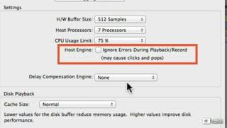 13. Host Engine Error Suppression