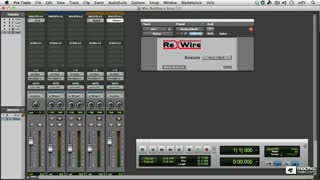15. Using ReWire with Pro Tools