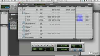 7. Auditioning Audio Files