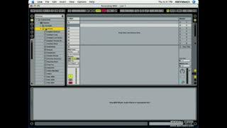 19. Recording MIDI