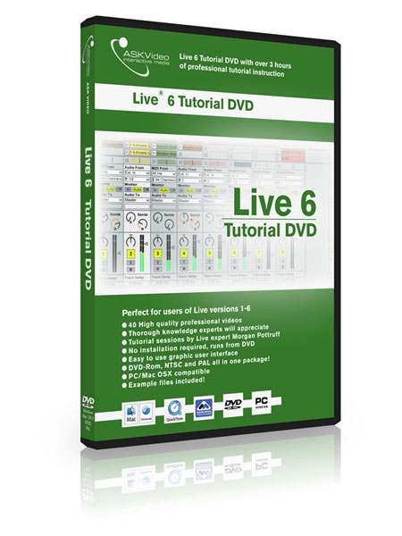 Live 6 501 - Working with Live 6