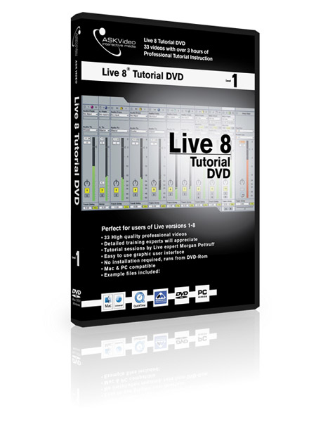 Live 8 501 - Working with Live 8 - Level 1