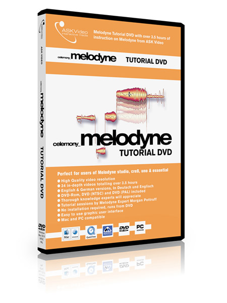 Melodyne 501 - Working with Melodyne