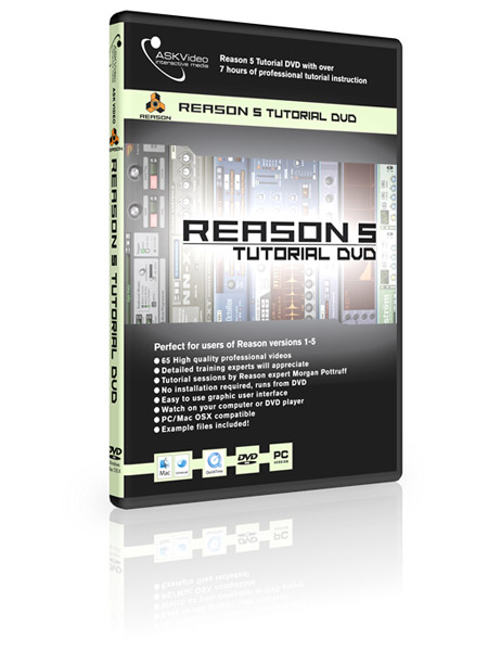 Reason 5 501 - Working with Reason 5