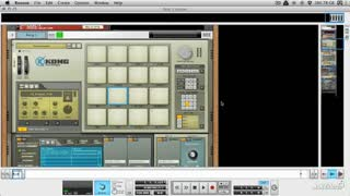 Reason 7 107: Beat Design Basics - Preview Video