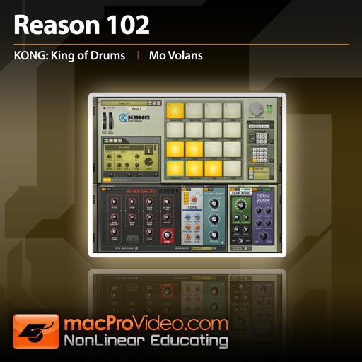 Make a punchy rock drum beat using reason's redrum.