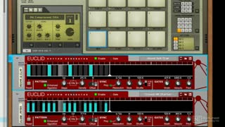 66. Euclid Rhythm Generator v.4 In Action