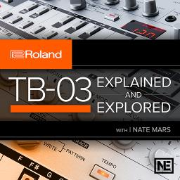 Roland Boutique 104 TB-03 Explained and Explored Product Image