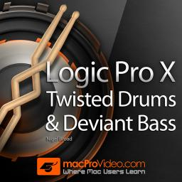 Logic Pro X 409 Twisted Drums and Deviant Bass Product Image