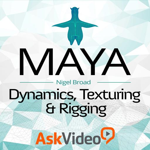 Dynamics, Texturing and Rigging Tutorial & Online Course