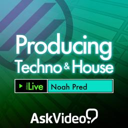Live 9 404 Producing Techno and House Product Image