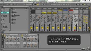 10. Recording MIDI Clips