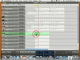 44 Transposing MIDI Regions