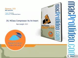 26. MClass Compressor - Insert