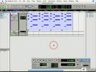 100 MIDI Data in the Event List