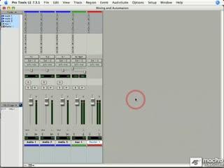 113 Basic Mixer Signal Flow