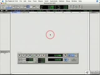 91 Creating a MIDI Track