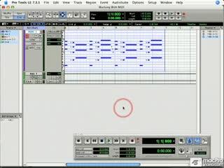 97 Editing MIDI Regions